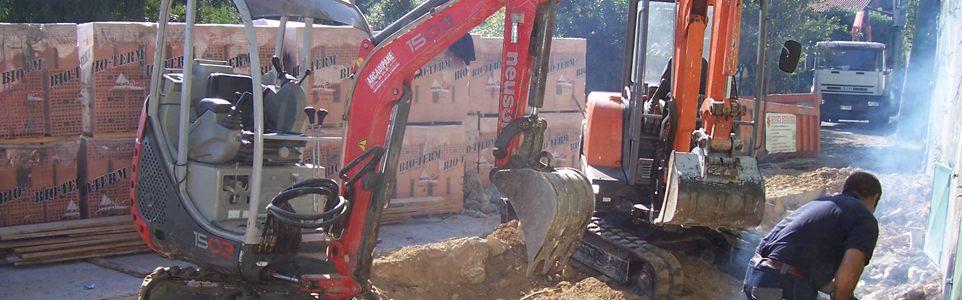 Progetto e D.L. opere di sostegno e contenimento terra